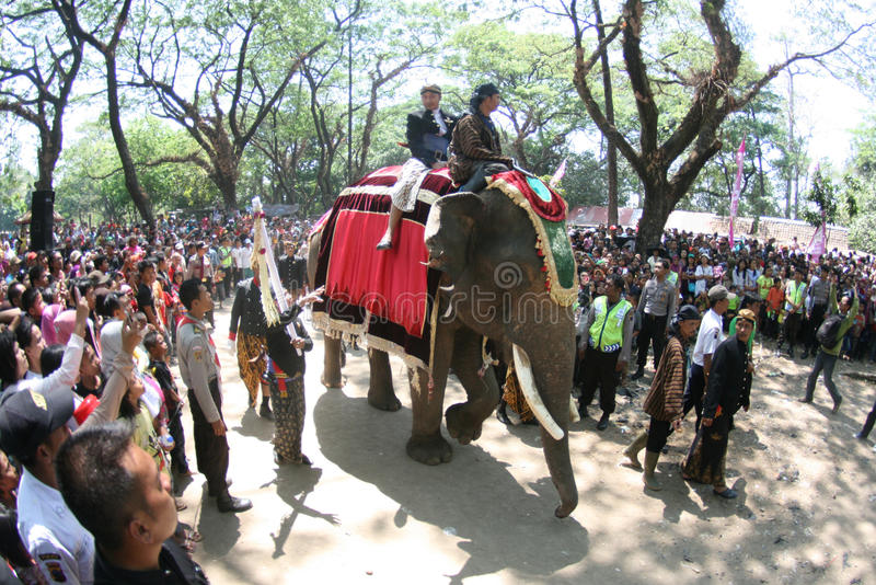 Download Grebeg syawal ritual editorial stock photo. Image of holy - 31689473