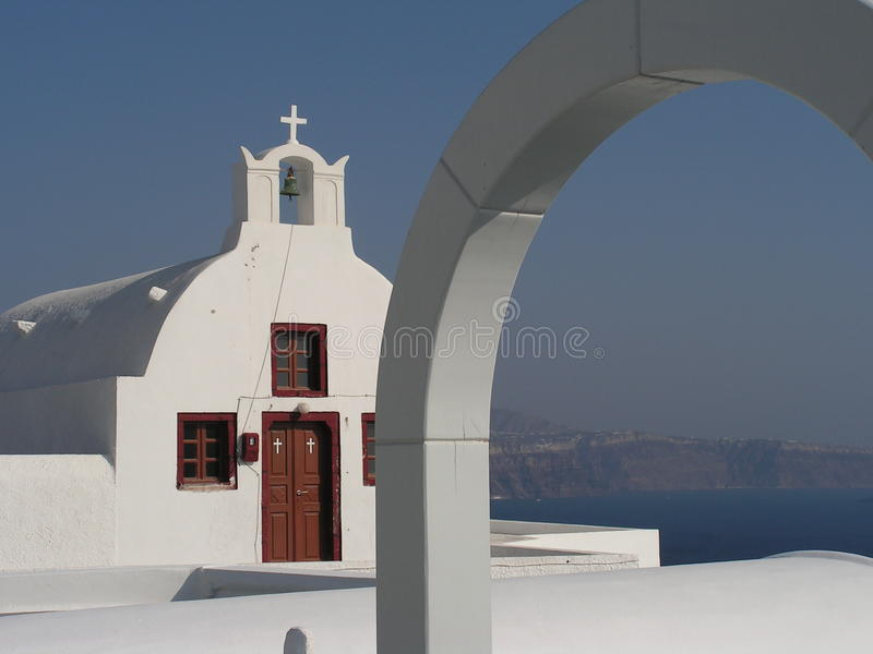 greca chiesa στοκ φωτογραφίες