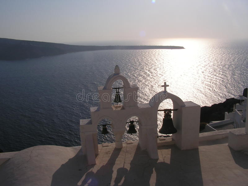 greca chiesa στοκ εικόνα με δικαίωμα ελεύθερης χρήσης
