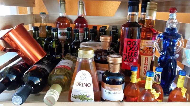 Greccy produkty zdjęcie stock
