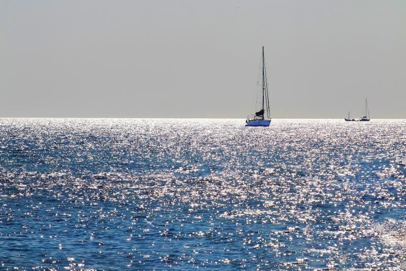 Greccy wakacje - tam jest szczęście fotografia royalty free