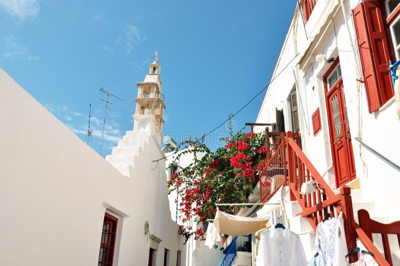 Greccy wysp mykonos zdjęcie stock