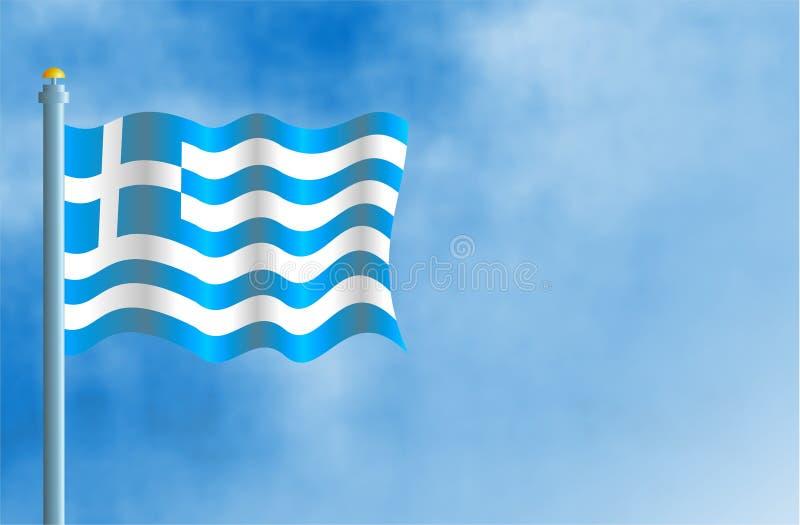 Grecia stock de ilustración