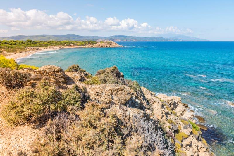 Grecia destinación Isla de Skiathos fotografía de archivo libre de regalías