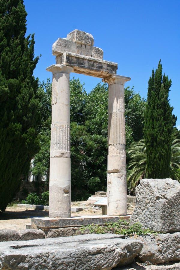 Grecia. Isla de Kos imagen de archivo