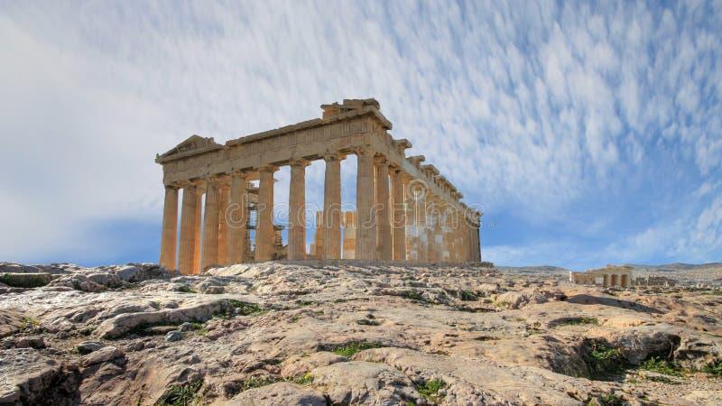 Grecia - La Acrópolis en Atenas imagen de archivo libre de regalías