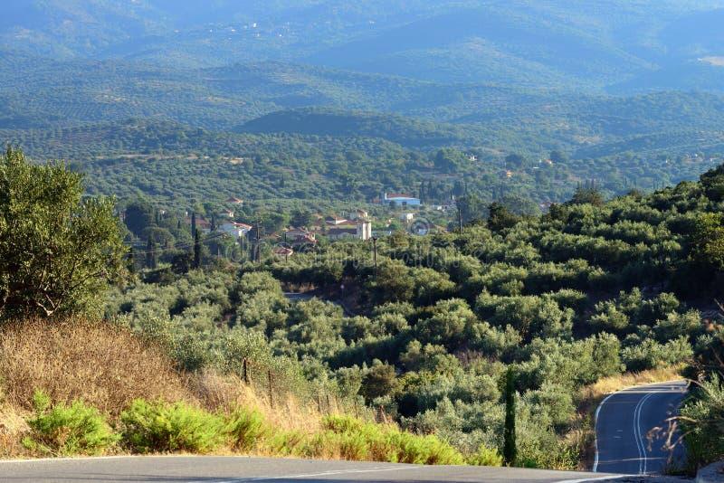 Grecia, paisaje rural foto de archivo libre de regalías