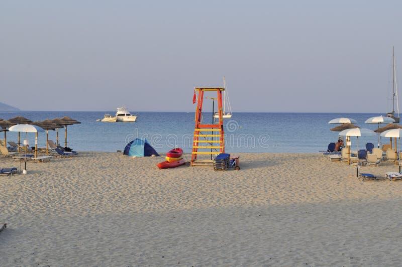 Grecia Peloponeso Isla de Elafonisos Paisaje marino imágenes de archivo libres de regalías