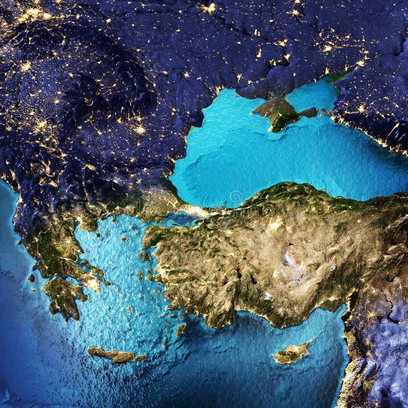 Grecia, Turquía fotografía de archivo libre de regalías