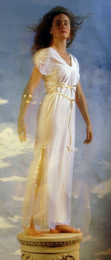 grecian женщина стоковая фотография rf