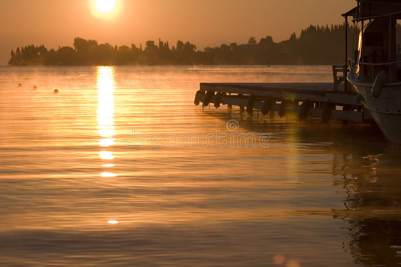 Grecian Dawn Stock Images