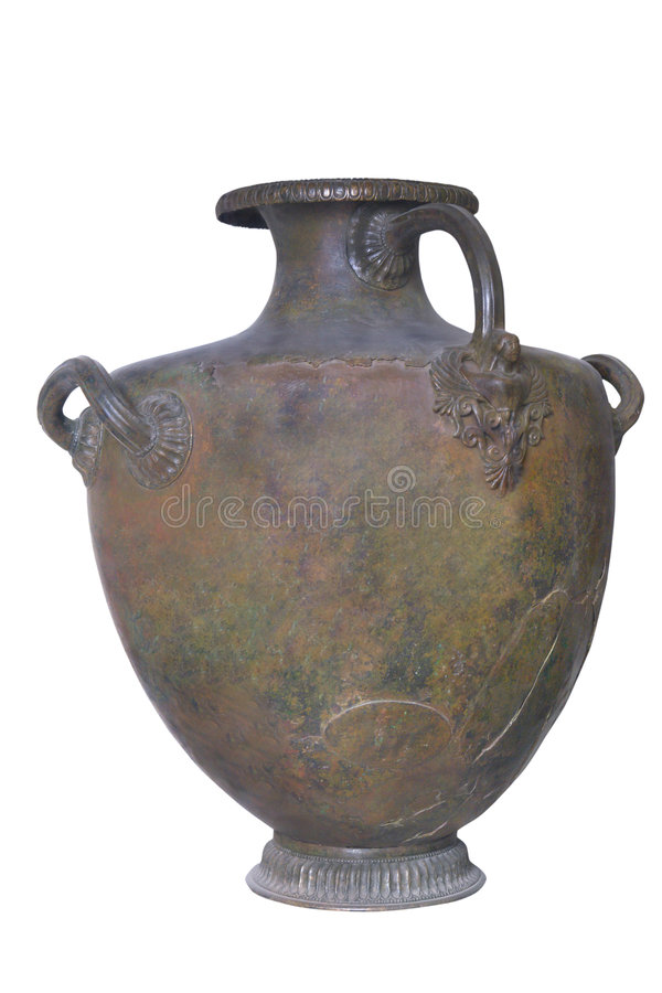 Download Grecian (Greek) Vessel For Water - Hydria Stock Photo - Image: 4855018