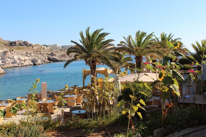 Grecja bystry krajobrazu lato nieporuszona piękna natura zdjęcie royalty free