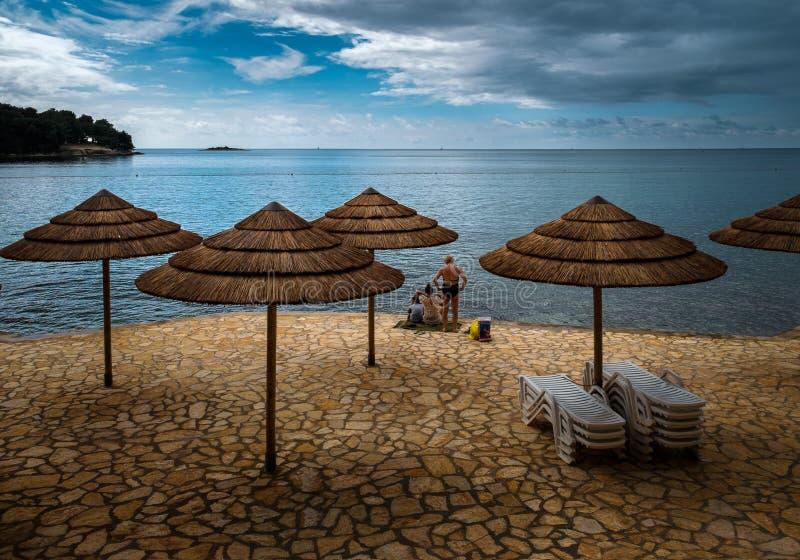 Grecja crete rozluźnij się fotografia royalty free