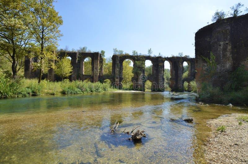 Grecja, Epirus, Akwedukt Rzymski zdjęcia royalty free