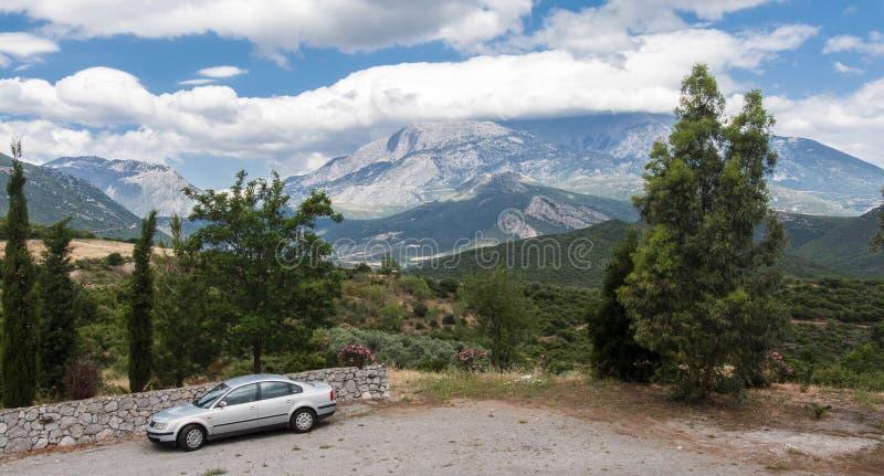 Grecja krajobraz fotografia royalty free