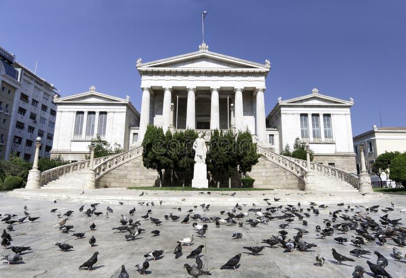 Grecja krajowy Biblioteczny budynek w Ateny obrazy stock
