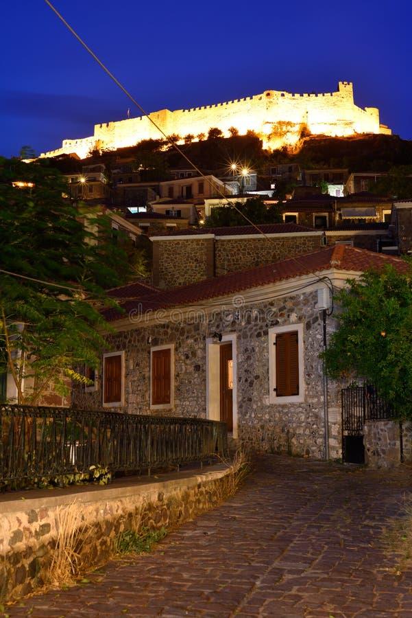 Grecja, Lesbos, Mithimna fotografia stock
