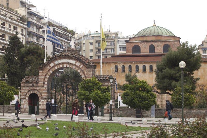 Grecja, Saloniki obraz stock