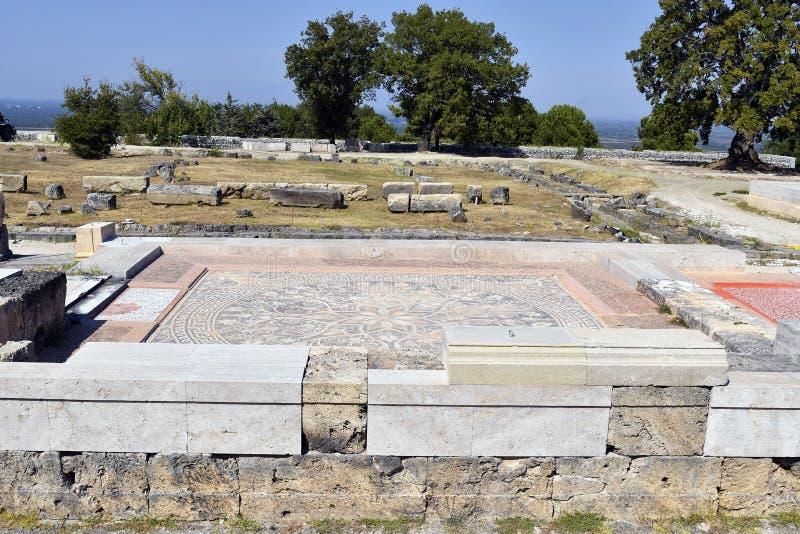 Grecja, Tesalia, Werginia fotografia royalty free