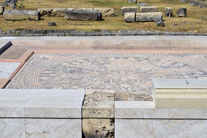 Grecja, Tesalia, Werginia obrazy stock