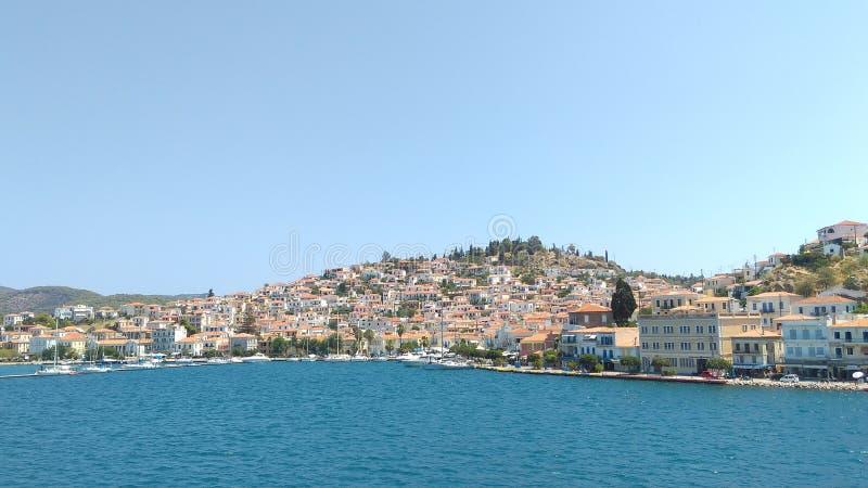 Grecja wyspa obrazy royalty free