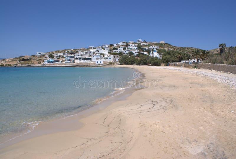 Grecja wyspa Donoussa wioska Stavros fotografia stock