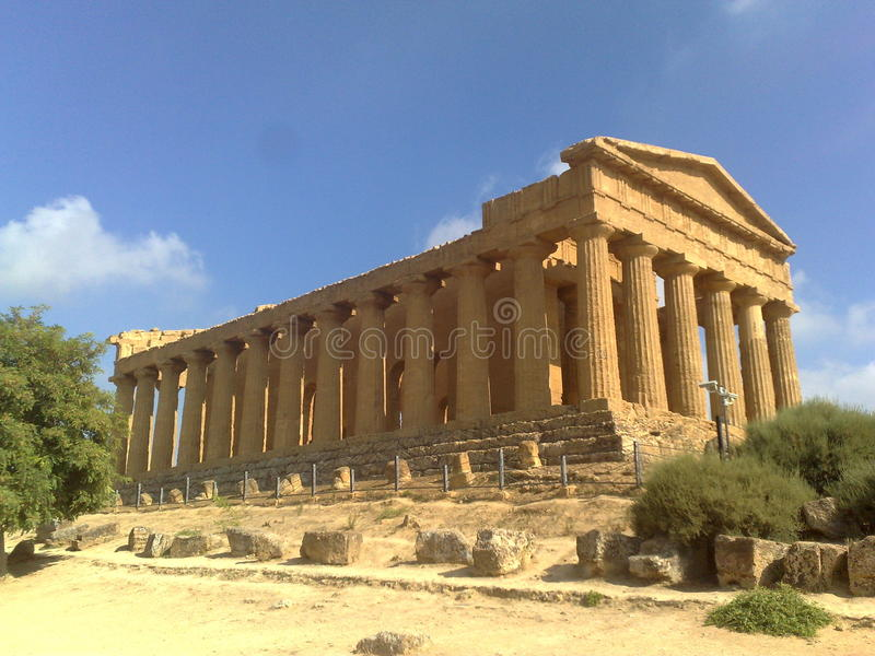 grecka świątyni obrazy stock
