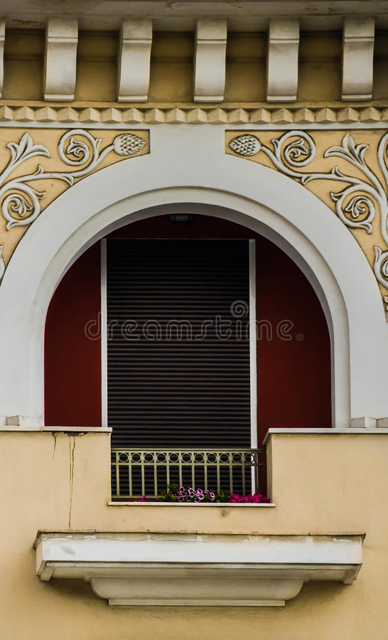 Grecka architektura zdjęcia stock