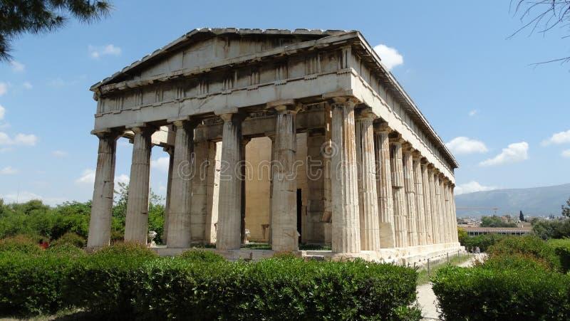 Grecka architektura zdjęcie stock