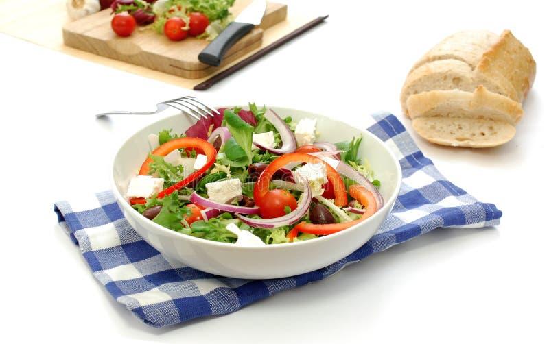 grecka sałatka zdjęcie stock