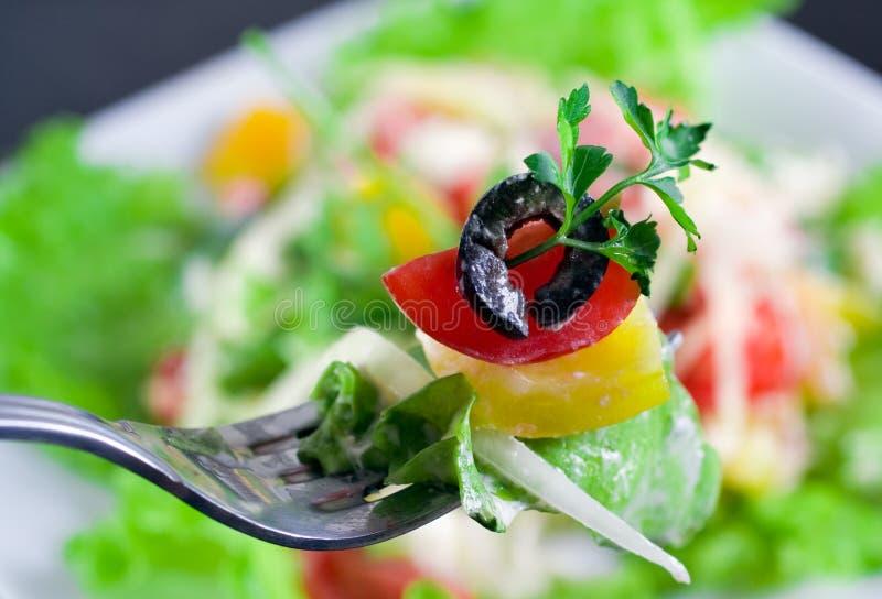Download Grecka sałatka obraz stock. Obraz złożonej z parmesan - 13343283