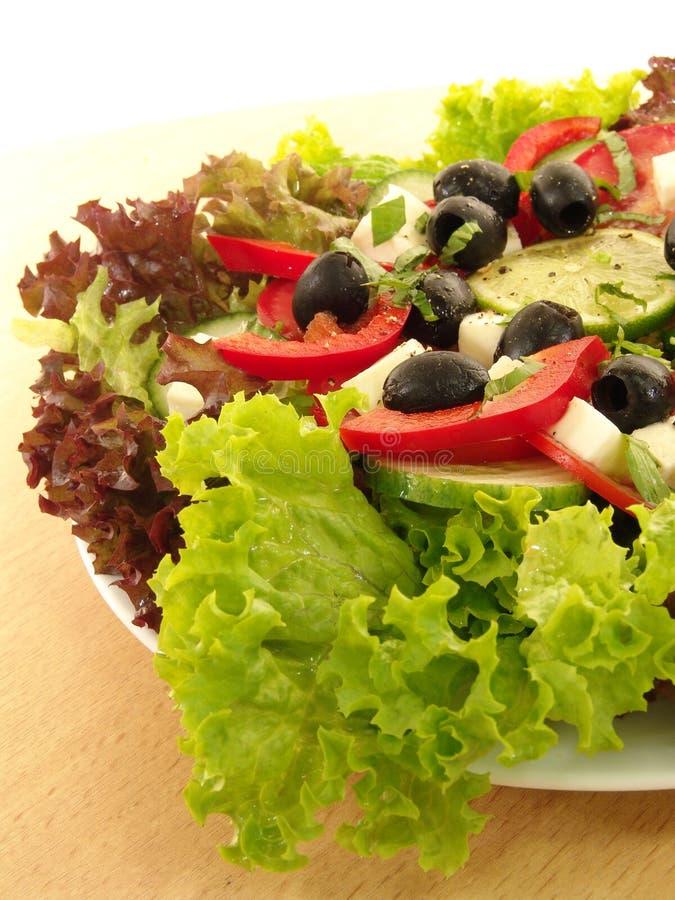 Download Grecka sałatka obraz stock. Obraz złożonej z świeży, jedzenie - 239557