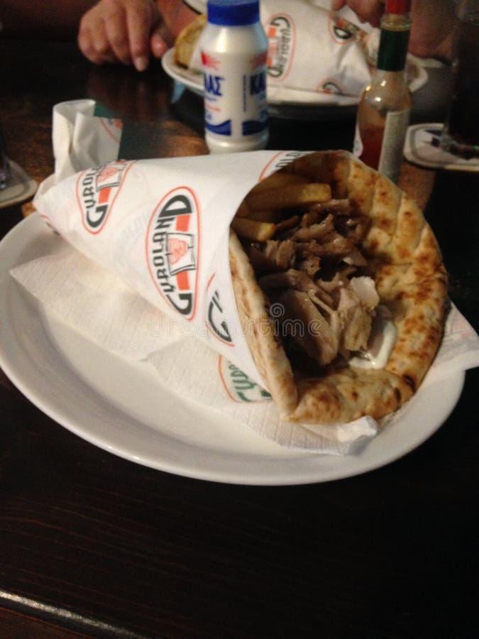 Grecki jedzenie zdjęcia royalty free