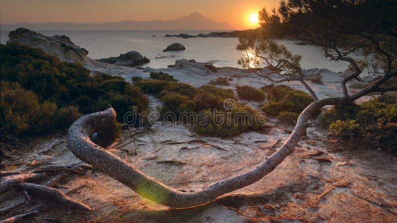 grecki raj fotografia stock