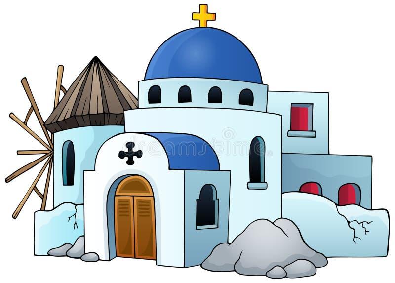 Grecki tematu wizerunek 5 royalty ilustracja