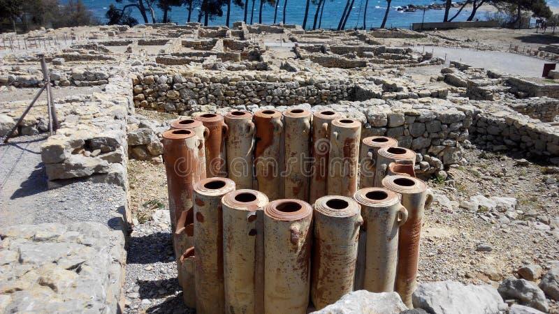 Greckie ruiny zdjęcie stock