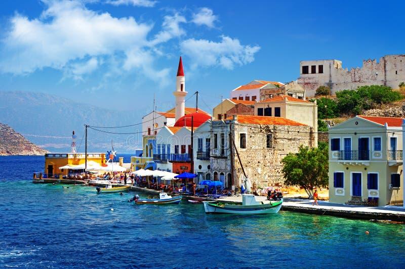 greckie wyspy zdjęcie stock