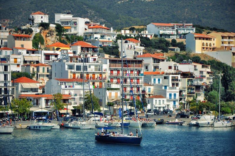 Greckie wyspy obrazy stock