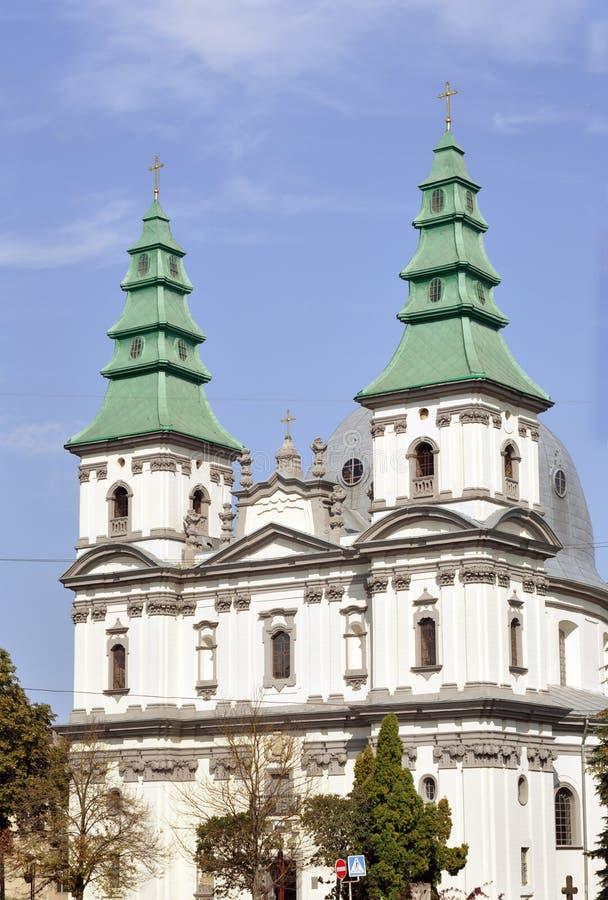 Greckiego katolika katedra fotografia royalty free