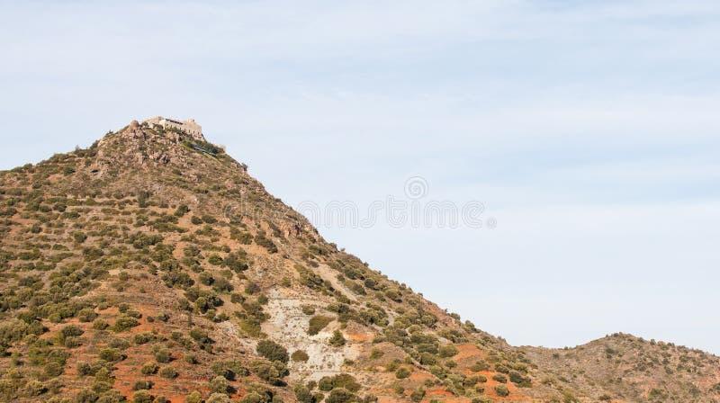 Greckokatolicki monaster Stavrovouni obrazy stock