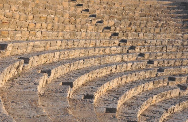Greco - Roman Theatre, Chipre imagen de archivo