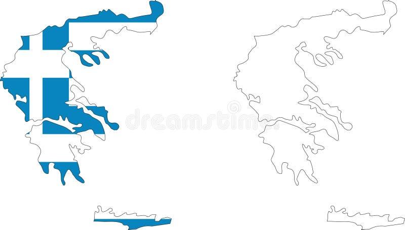 greece royalty ilustracja