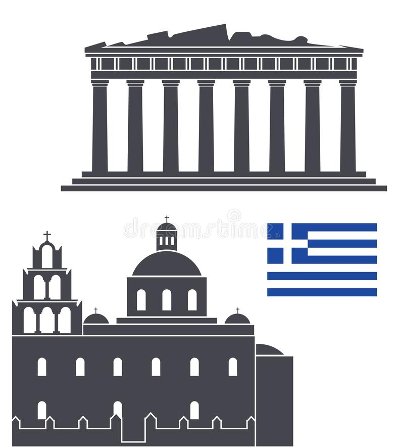 Greece ilustração do vetor