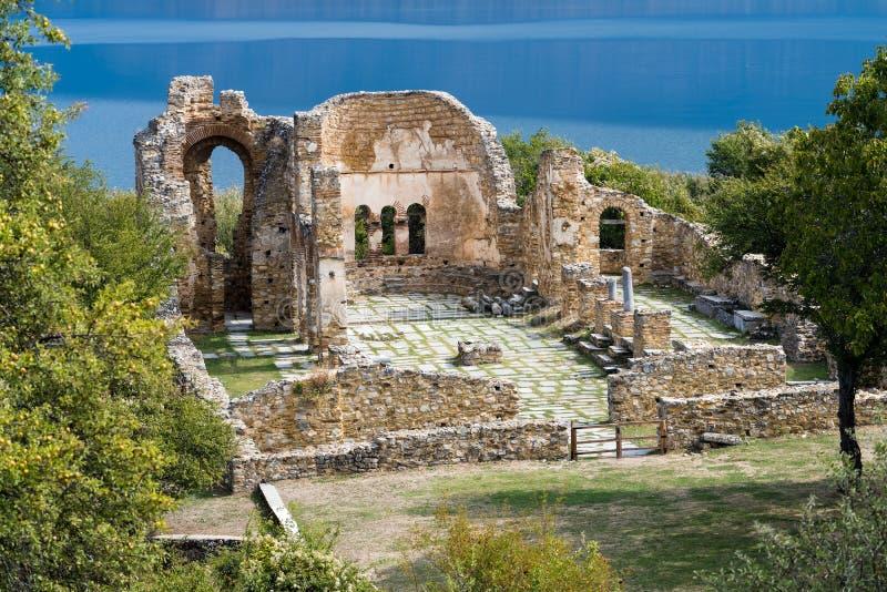 greece archeologiczny miejsce zdjęcia royalty free