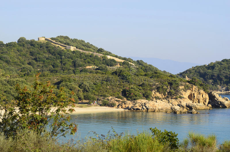 Greece, Athos Peninsula royalty free stock images