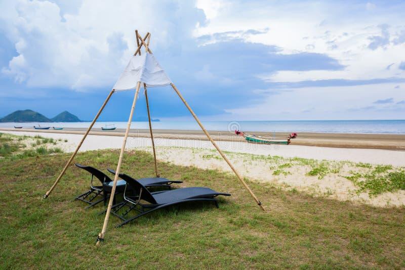 Greece, Bay of Water, Beach, Beach Umbrella, Beauty stock photo