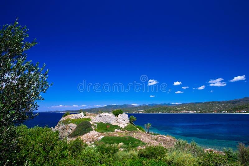 Download Greece stock image. Image of dockside, lagoon, peninsula - 31480979
