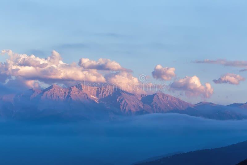 greece berg olympus arkivfoto