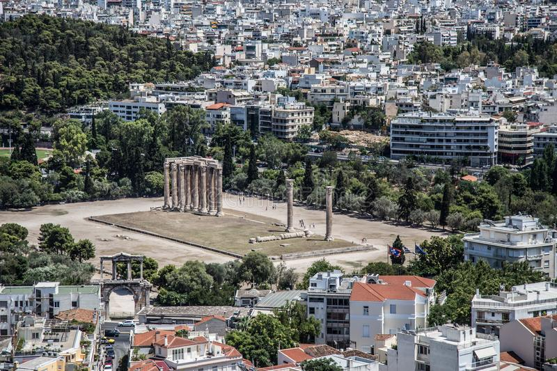 Ancient Greece. Greece is considered the cradle of Western civilization, being the birthplace of democracy, Western philosophy, the Olympic Games, Western royalty free stock photography